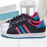 【童鞋城堡】Adidas愛迪達新穎雙色底經典款運動休閒鞋{專櫃鞋款}DQ23586