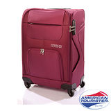 American Tourister MV+Spinner 24吋加大行李箱20T(紫紅色)