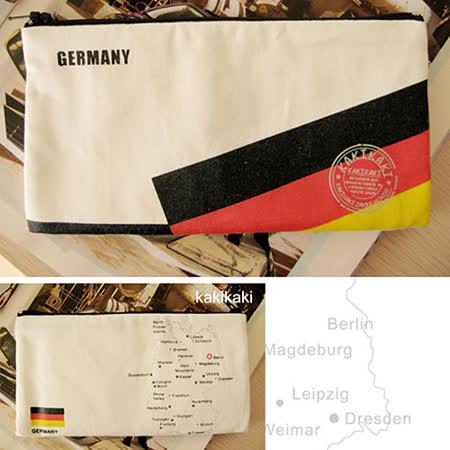 《Kakikaki》德國 國旗收納袋
