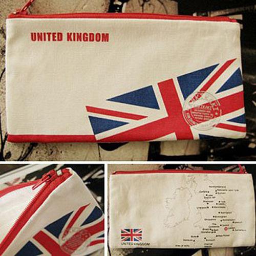 ~Kakikaki~英國 國旗收納袋