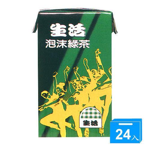 泡沫綠茶250ml^~24入箱