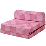 【戀香】單人小沙發床(楓葉紅)