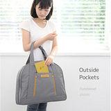 韓版旅行購物通用收納包