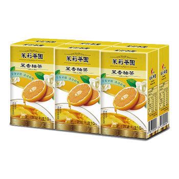 光泉茉莉茶園-茉香柚茶245ml*6入/組