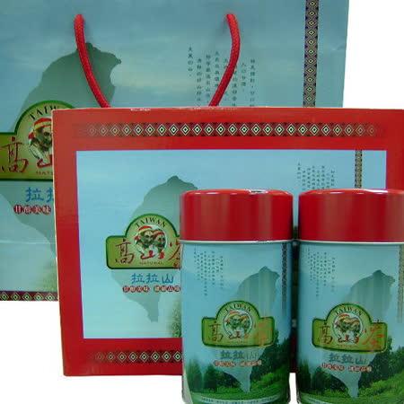台灣名茶 拉拉山/高山烏龍茶禮盒(2入/盒)附精美包裝