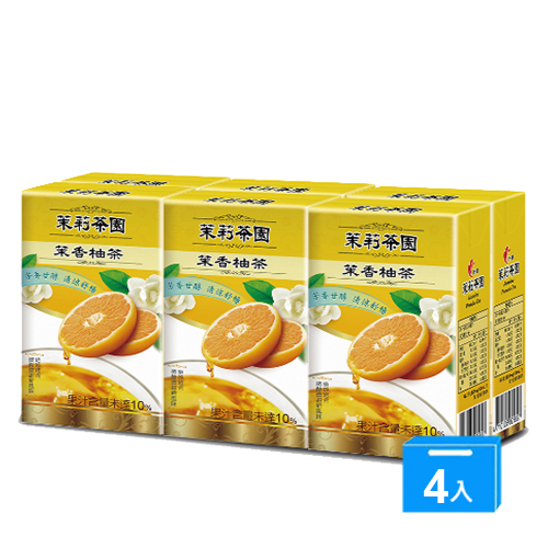 光泉茉莉茶園~茉香柚茶245ml~24入箱