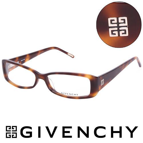 GIVENCHY 法國魅力紀梵希 LOGO都會 光學眼鏡^(玳瑁^) GIVGV74109