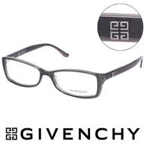 GIVENCHY 法國魅力紀梵希時尚北非狩獵豹紋風格造型平光眼鏡(鐵灰) GIVGV7440M78
