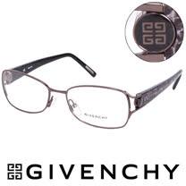 GIVENCHY 法國魅力紀梵希大理石花紋復古金屬光學鏡框(黑) GIVGV3870568