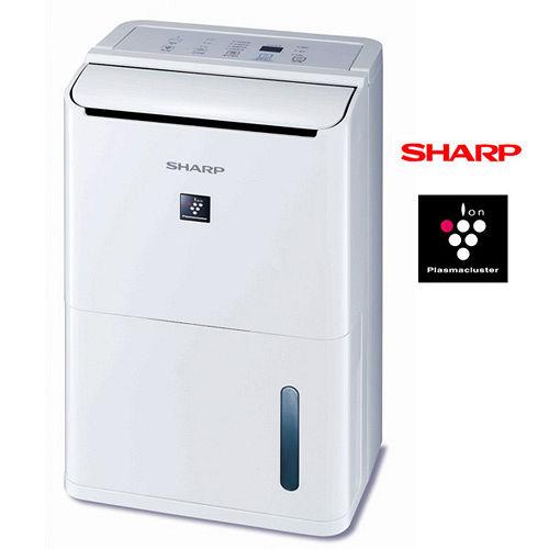 SHARP夏普8L自動除菌離子溫濕感應除濕機DW-D8HT