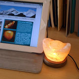 【Naluxe】USB設計水晶鹽燈-小元寶