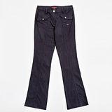 【FANTINO】女款 直條修身休閒褲083105(紫)