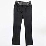 【FANTINO】女款 百貨專櫃品牌休閒褲 083303(黑)