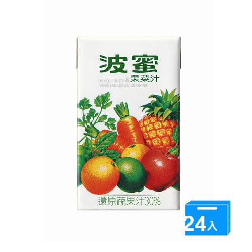 波蜜果菜汁250ml~24入箱