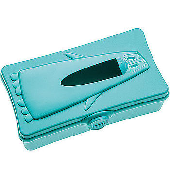 《KOZIOL》企鵝面紙盒(湖綠)
