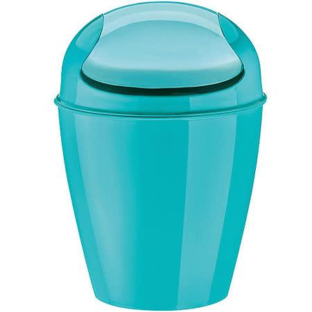 《KOZIOL》搖擺蓋垃圾桶(湖綠XS)