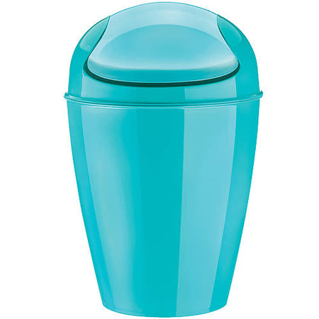 《KOZIOL》搖擺蓋垃圾桶(湖綠M)