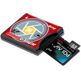 CF TYPE II 32GB WI-FI Class10極速卡超值組(SD-CF轉卡+PQI WI-FI轉卡+32G C10 MSD+12入收納盒)