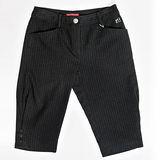 【FANTINO】女款 超顯瘦直條短褲083309(黑)