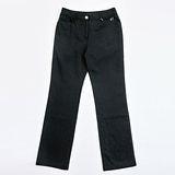 【FANTINO】女款 超顯瘦直條長褲083310(黑)