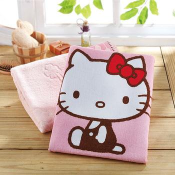 HELLO KITTY 印花小浴巾(60*110cm)