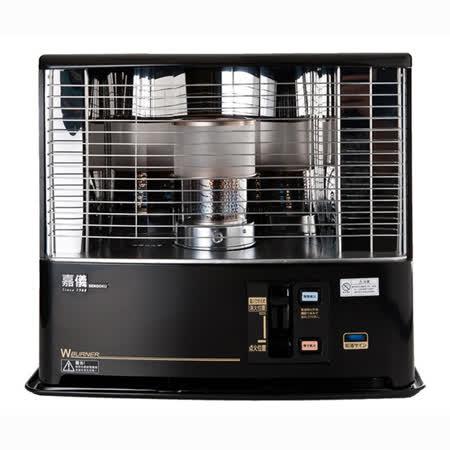 『KE』☆嘉儀 油芯自然對流式 煤油暖爐 KEG-500 / KEG500