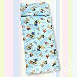 BUTTERFLY【熊熊家庭】冬夏兩用兒童睡袋-藍