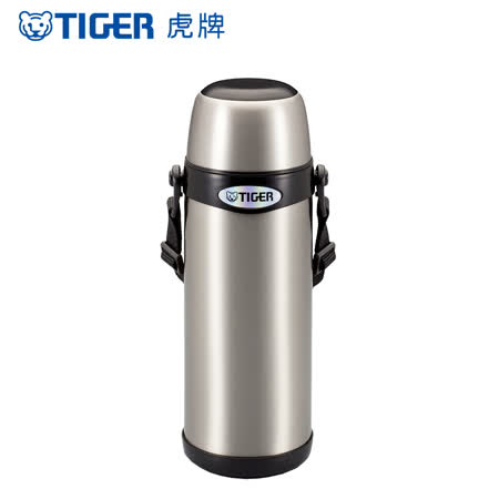 【TIGER虎牌】0.8L不鏽鋼_經典背帶系列保溫保冷瓶(MBI-A080)