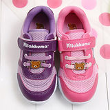 【童鞋城堡】Rilakkuma拉拉熊甜美教主運動鞋{台灣製造}KM8270