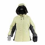 LOKI 女 PRIMALOFT 保暖外套(果綠/淺灰)