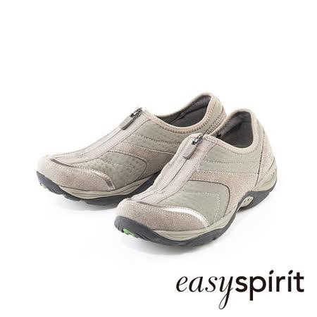 【開箱心得分享】gohappy快樂購物網Easy Spirit 柔適包覆自在隨性 異材質拼接拉鍊設計休閒鞋-動感卡其評價好嗎忠孝 館 sogo