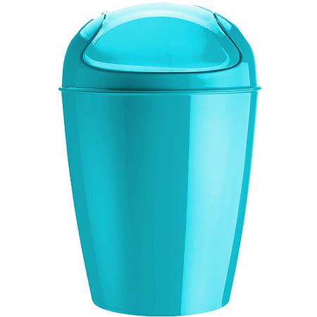 《KOZIOL》搖擺蓋垃圾桶(湖綠XXS)