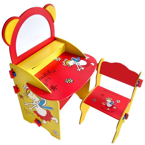 kikimmy 童話熊畫板書桌椅組