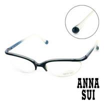 Anna Sui 日本安娜蘇 魔幻漸層立體精雕造型平光眼鏡(藍) AS03304