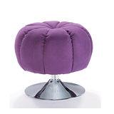 施華洛水鑽椅/伴讀椅-紫