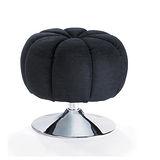 施華洛水鑽椅/伴讀椅-黑