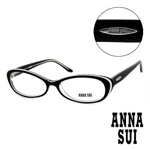Anna Sui 安娜蘇  款 平光眼鏡^(黑^) AS09001