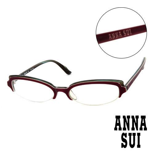 Anna Sui 安娜蘇   平光眼鏡^(紫^) AS09901