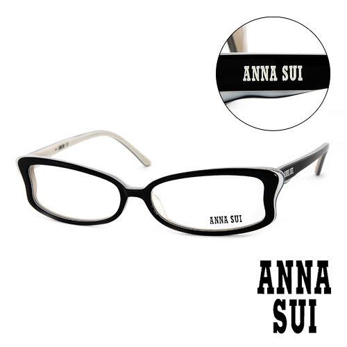 Anna Sui 安娜蘇 魔幻 蝴蝶 平光眼鏡^(黑^) AS10001