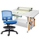 HAPPYHOME DIY兒童成長書桌網背椅組G-115AF