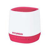 HYUNDAI現代 無線藍牙行動喇叭 - 青春版 粉紅/白