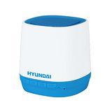HYUNDAI現代 無線藍牙行動喇叭 - 青春版 藍/白