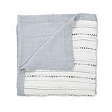 美國 aden+anais嬰幼兒竹纖維被毯-灰色水滴系列AA9304