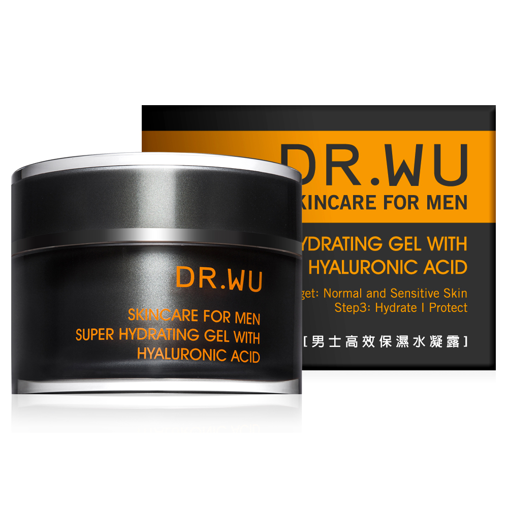 DR.WU 男士高效保濕水凝露