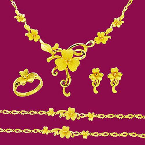 Manstyle「花嬌柳媚」黃金套組 (約18.16錢)