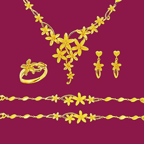 Manstyle「深邃柔情」黃金套組 (約19.53錢)