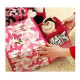【PS Mall】蝴蝶款內衣收納盒 2層2抽 兩色 (J1523)