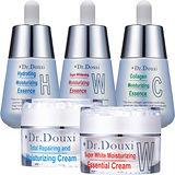 Dr.Douxi 朵璽 膠原蛋白/玻尿酸/美白精華液+美白/全效煥能霜 任選兩件