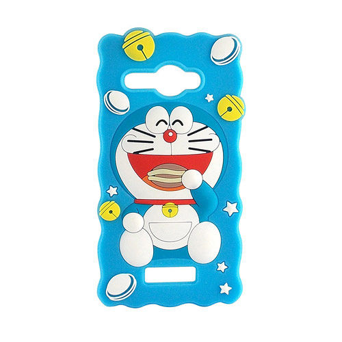 Doraemon 哆啦A夢 HTC Butterfly 2D立體保護套~歡樂銅鑼燒