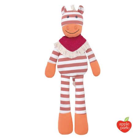 美國【Apple Park  - 農場好朋友系列】有機棉安撫玩偶 - 牛仔小馬